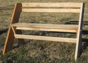 Aldo Leopold Bench Picture
